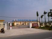 Ảnh chụp nhà máy sản xuất từ đường Láng Hoà Lạc