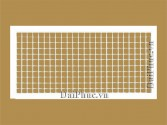 Cửa gió 2 lớp nan bầu dục (DDG) Double deflection grille
