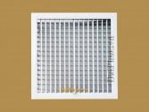 Cửa gió 2 lớp nan bầu dục có cơ cấu lật (DDG) - Double deflection grille