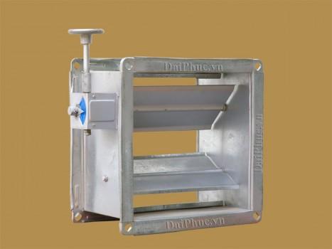 Van đường ống gió tay trục vít - Volume Controll Damper (D-VCD)