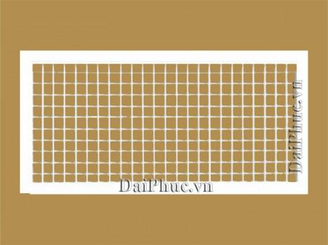Miệng gió 2 lớp nan bầu dục (DDG) Double deflection grille